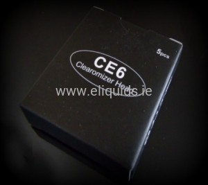 5 x Replacement Coil Head for CE6