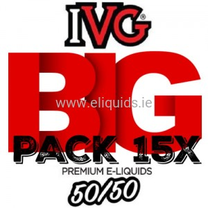 15 x IVG - 50:50 Big Pack
