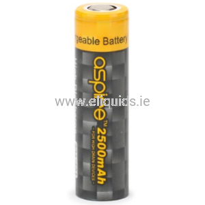 Battery Aspire ICR18650 1800mAh - 40A