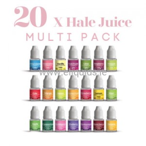 20 x HALE Vape Juice All Flavors